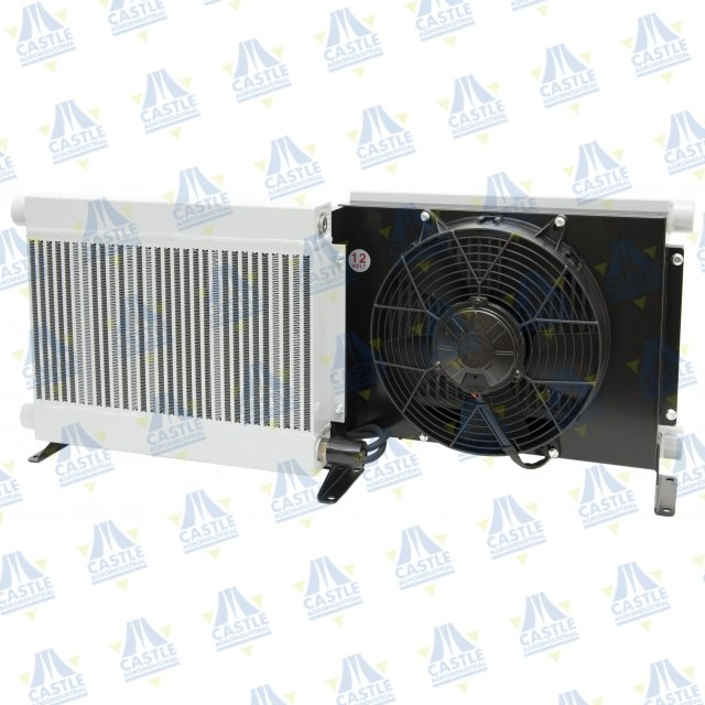 INTERCAMBIADOR DE CALOR 12v INT300 BY-PASS CAUDAL 50-300L POTENCIA 730kcal/hºC CAPACIDAD 11L 47ºC